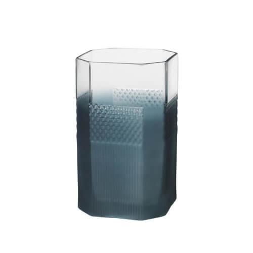 Broste Copenhagen – Vase PATTERN – Blau