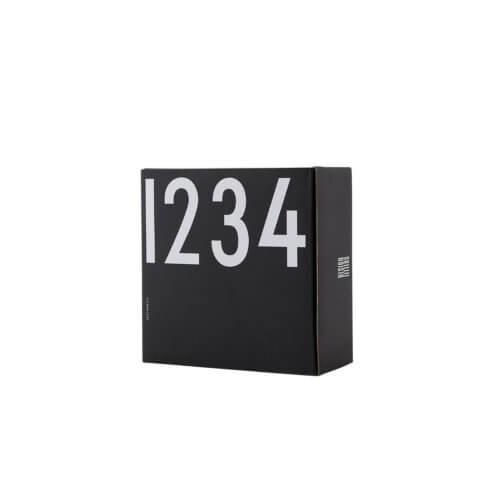 Design Letters – Porzellan-Espressobecher 1-4 – Schwarz