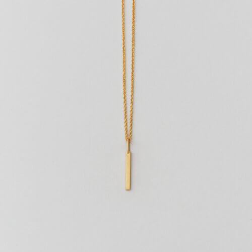 Design Letters – Kette mit Buchstabe I (16 mm)