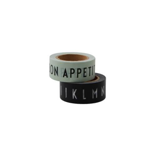 Design Letters – Masking Tape Bon Appetit