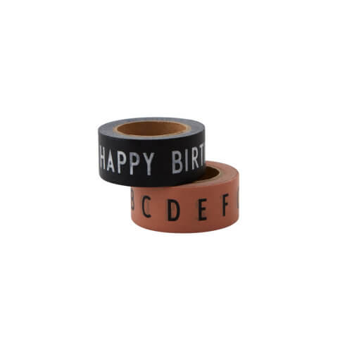 Design Letters – Masking Tape Happy Birthday