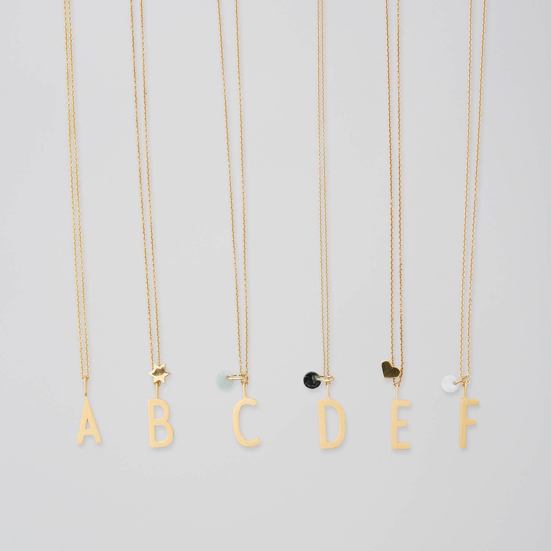 design letters kette mit buchstabe u 10 mm 2 kettenl ngen. Black Bedroom Furniture Sets. Home Design Ideas