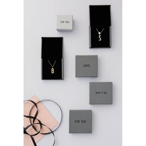Design Letters – Buchstaben Anhänger für Kette