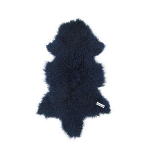 DYRESKINN – Lammfell aus Tibet Marineblau