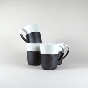 Broste Copenhagen – 4er Set ESRUM Tasse mit Henkel