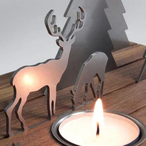 Unoferrum – Silhouette Winterlandschaft L Ahorn