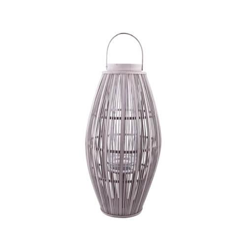 Broste Copenhagen Bambus Laterne ALETA – Grau