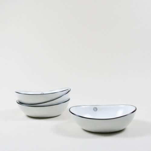 Broste Copenhagen –4er Set SALT Schüssel L