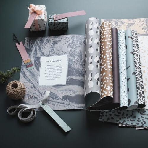 ferm Living – Geschenkpapier-Buch