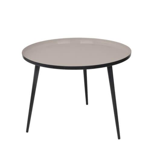 Broste Copenhagen Tisch JELVA M Taube – Maße ca. Ø 57 x H 42 cm