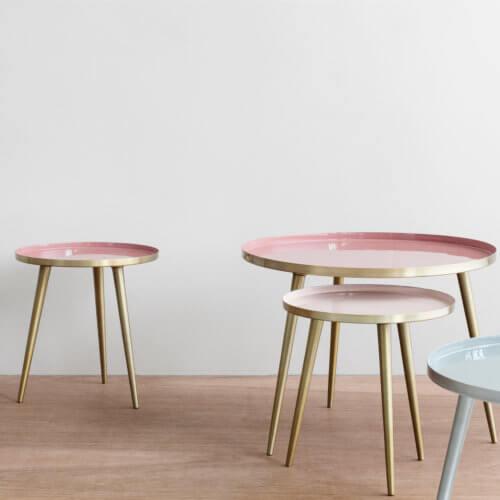 Broste Copenhagen Tisch Jelva – Maße ca. Ø 35 x H 37 cm