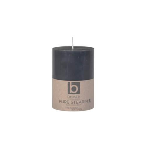 Broste Copenhagen – Kerze ECO Stearin Grau S