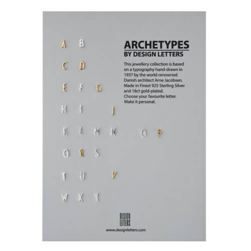 Design Letters Ohrstecker Buchstabe L Gold
