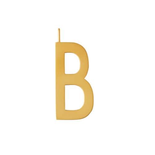 Design Letters – Buchstabe B (30 mm) – 18K Gold