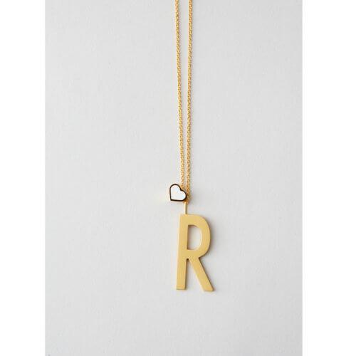 Design Letters – Buchstabe (30 mm) – 18K Gold