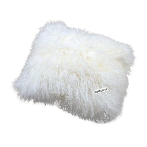 DYRESKINN – Tibetan Kissen Komplett – Weiß