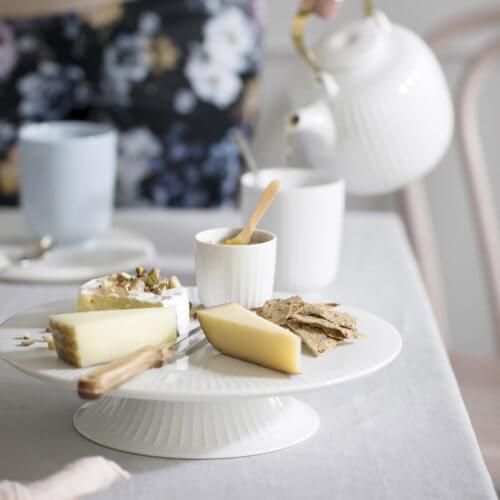 Kähler Hammershøi Kuchenplatte – Weiß