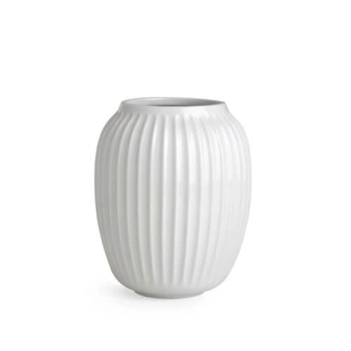 Kähler Hammershøi Vase M Weiß