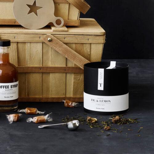 Nicolas Vahé Grüner Tee mit Feige und Zitrone