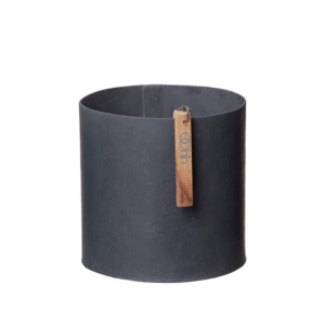 OOhh Kollektion – Blumentopf Rome Cylinder – Schwarz S