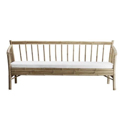 Tine K Home Bambus Lounge Sofa Weiß