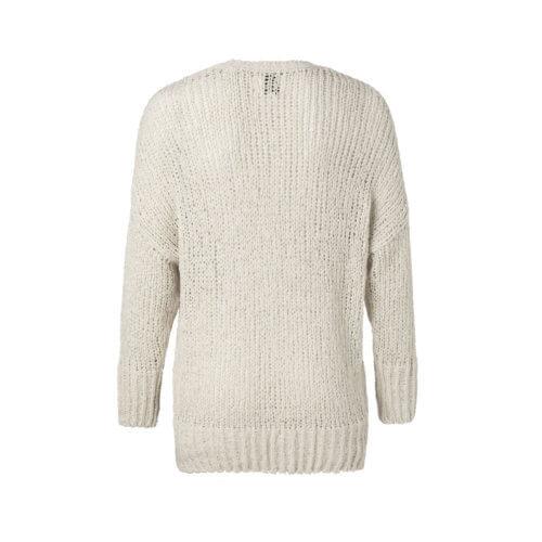 YAYA Pullover in grober Strickpullover – Cremé