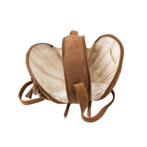 YAYA – Kleine runde Velours-Tasche