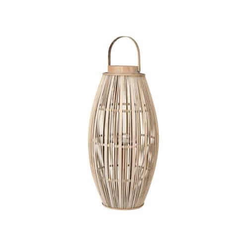 Broste Copenhagen Bambus Laterne ALETA Natur – M