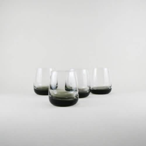 Broste Copenhagen 4er Set Trinkglas SMOKE