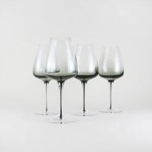 Broste Weißweinglas Smoke 4er Set