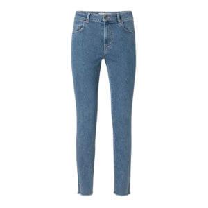 YAYA Basic-Jeans mit Stretcheffekt – Blau