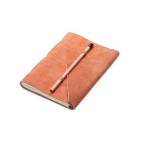 YAYA Velours-Notizbuch mit Stift