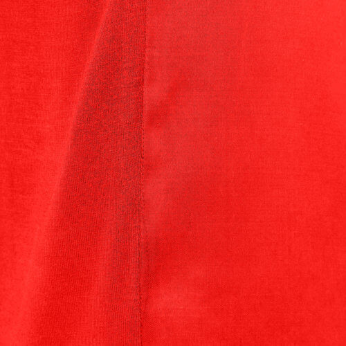 YAYA Cupro-Shirt im Materialmix – Rot