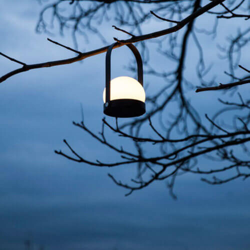 MENU LED-Lampe Carrie Schwarz