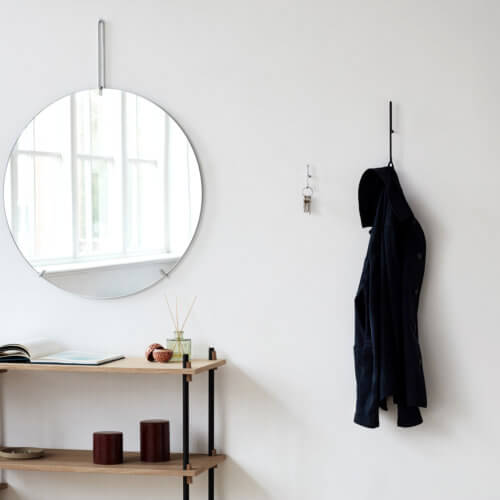 Moebe Wandhaken Schwarz – Small im Set, Haken als Garderobe