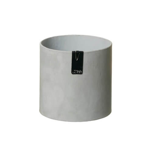 OOhh Collektion Blumentopf Tokyo Cylinder Grau – L