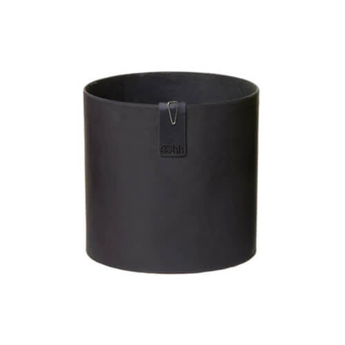 OOhh Collektion Blumentopf Tokyo Cylinder – Schwarz M
