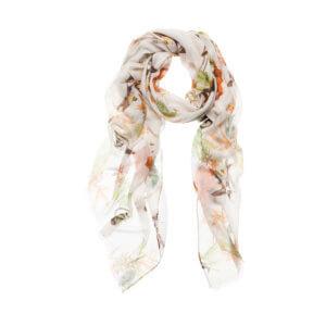 YAYA – Schal aus Viskose mit Animal-Blumen-Print