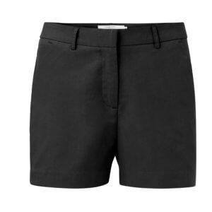 YAYA Bermuda-Shorts mit Seitentaschen – Schwarz