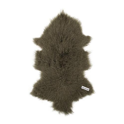 DYRESKINN – Lammfell aus Tibet Grau