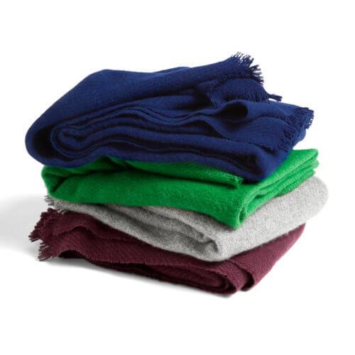 Die Hay Mono Decke in verschiedenen Farben, 180 x 130 cm
