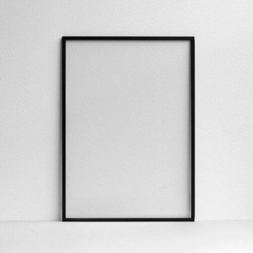 Moebe – Bilderrahmen Aluminium – Schwarz A2