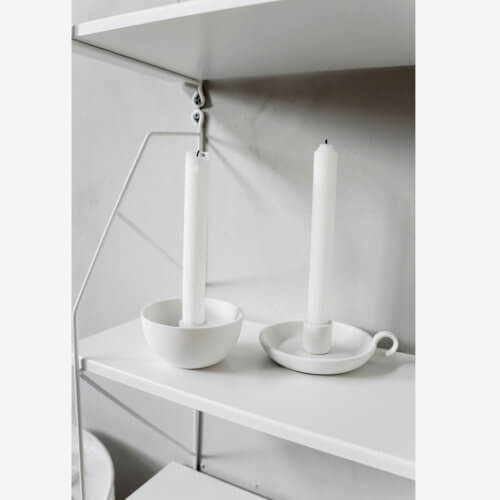 Storefactory Kerzenhalter Lidatorp Weiß