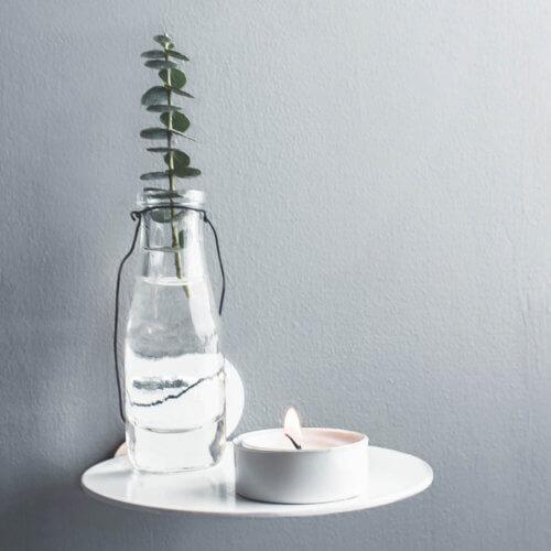 Storefactory Kerzenhalter Hossmo Weiß