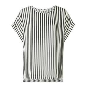 YAYA Shirt mit Streifenmuster – Schwarz & Weiß