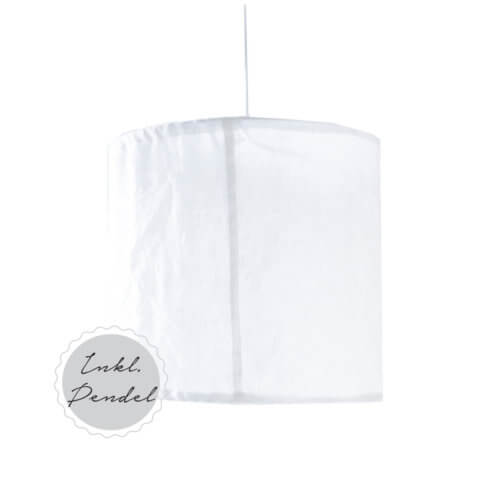 Storefactory Lampenschirm Lindås - Weiß