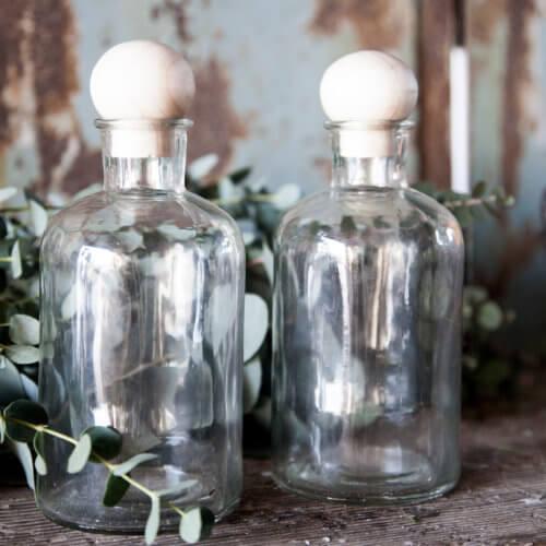 Storefactory Flasche mit Holzverschluß