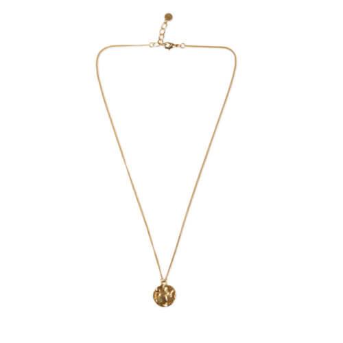 YAYA Halskette mit Anhänger – Messing