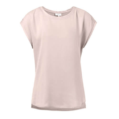 YAYA Cupro Shirt Rosé