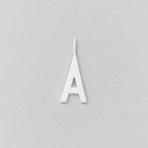 Design Letters Buchstabe A (16 mm) Silber